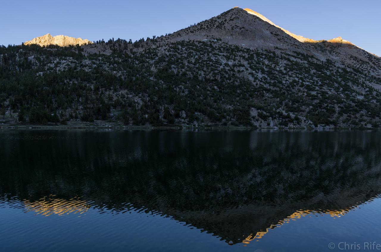 Charlotte Lake sunrise