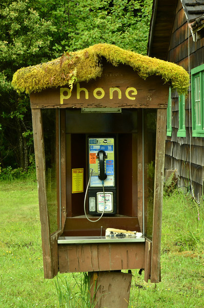 Such an old ancient relic, moss is collecting on it....