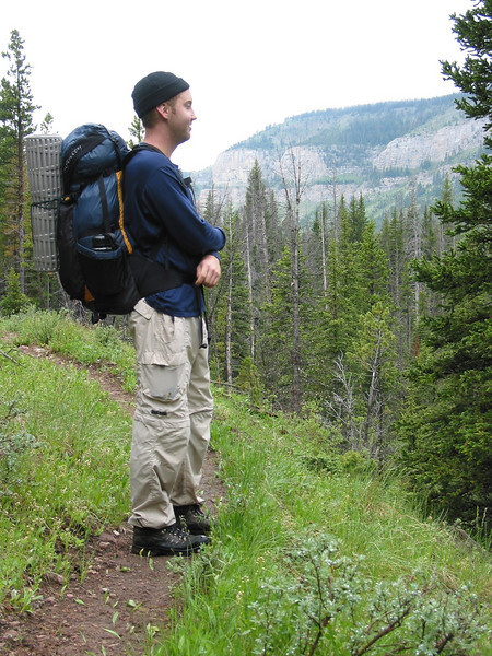 Ben's first lightweight trip with his new Go Lite Infinity pack.