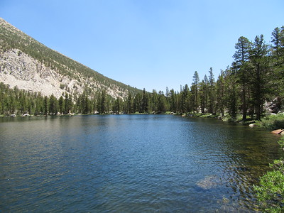 ... Black Lake (10,649').  From there, I began to complete my loop around the Big Pine Lakes basin with ...