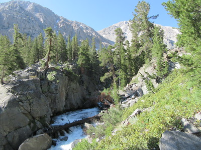 ... got far from North Fork Big Pine Creek as ...