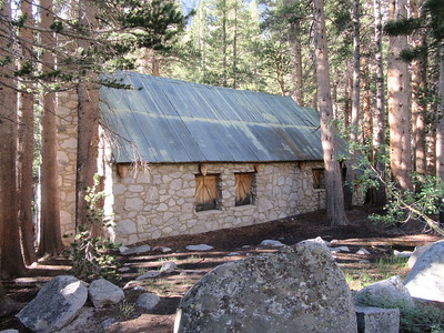 I passed by the old Lon Chaney house, now used by the Forest Service, and seldom ...