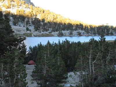 Sierra -- Cottonwood Lakes and up a little  9-18