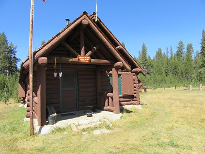 ... the N.P.S. Ranger Station (8500') where Coby has been stationed all summer and ...