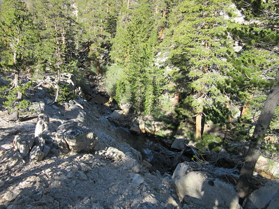 ... climbed up along Rock Creek, ...