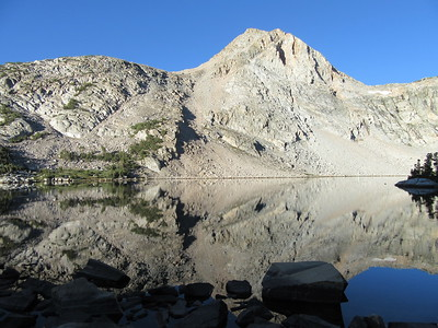 ... Piute Lake.  Hard to beat, and with that I packed up and hiked back to the trailhead.