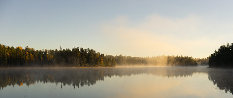 Pageant Lake in the morning.