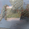 I was unable to find a map before the trip and was planning on buying one, but the park was all closed down for the season. Maddie had the great idea of taking a photo of the map on display which we referred to on my phone throughout the trip. We started at the ? near the center, did the Kabeyun Trail to Tee Harbour the first day, then took the Talus Lake trail to Norma Lake the 2nd day and then completed the loop back via the Sawyer Bay trail.