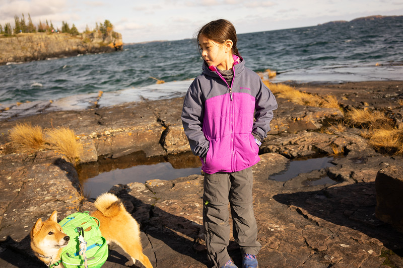 After setting up camp we went exploring on the Tee Harbour peninsula.