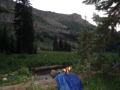 Camp at Sock Lake