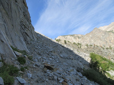 ... which continued up a rocky trail, eventually ...