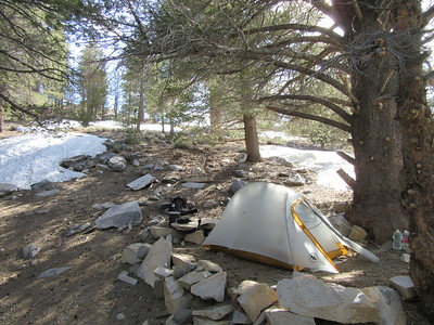 South Sierra Wilderness -- Kennedy Meadows to Cow Canyon  5-17