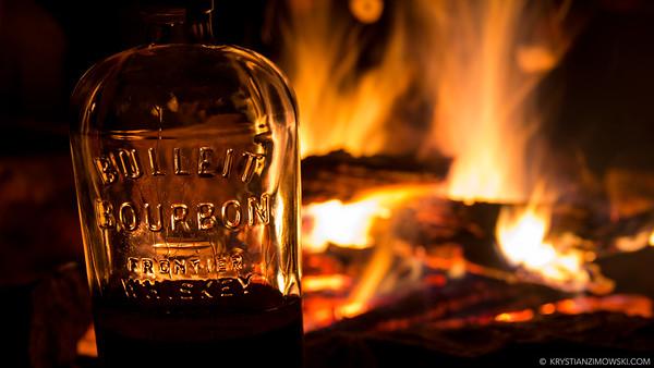 Bourbon by Firelight