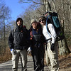 2012-11-23<br /> Yay, finally got the shot - Starting out on the Appalachian Trail (AT) at Mooney Gap.