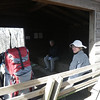 2012-11-24<br /> We ate lunch at the Standing Indian shelter on the AT.