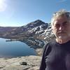 Garnet Lake selfie.