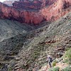Grand Canyon East Tonto BP-   Day 7 - Hiking out to Hermits Rest - Monument Canyon