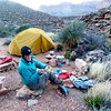 Grand Canyon East Tonto BP- <br /> Day 5 - Cedar Springs Camp