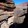 Grand Canyon East Tonto BP-   Day 6 - Hiking below Cedar Springs