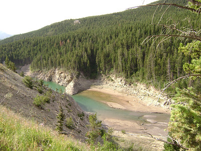 This is where North Birch Creek enters into the Reservoir.