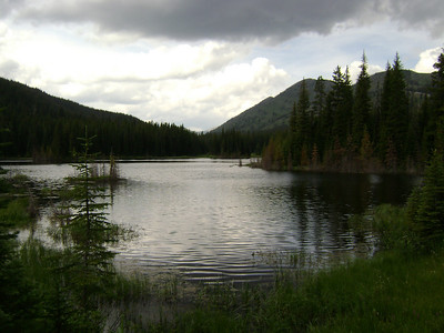 Beaver Lake, pretty area but don't drink the water!