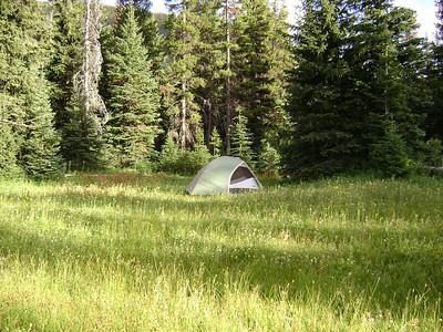 Camp at Beaver Lake.