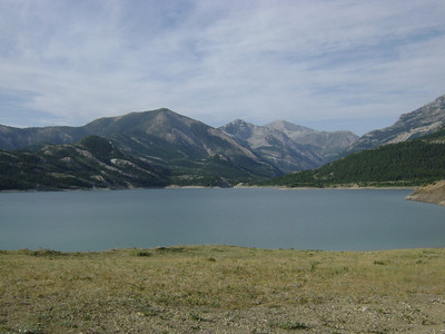 Day 1:  Swift Reservoir, and we begin our hike!