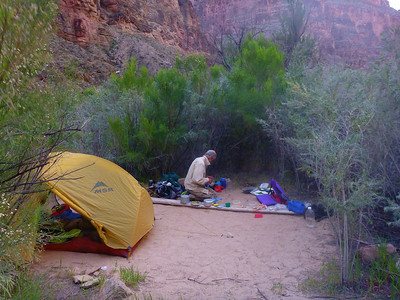 Camp 3 at Stairway Canyon Beach.