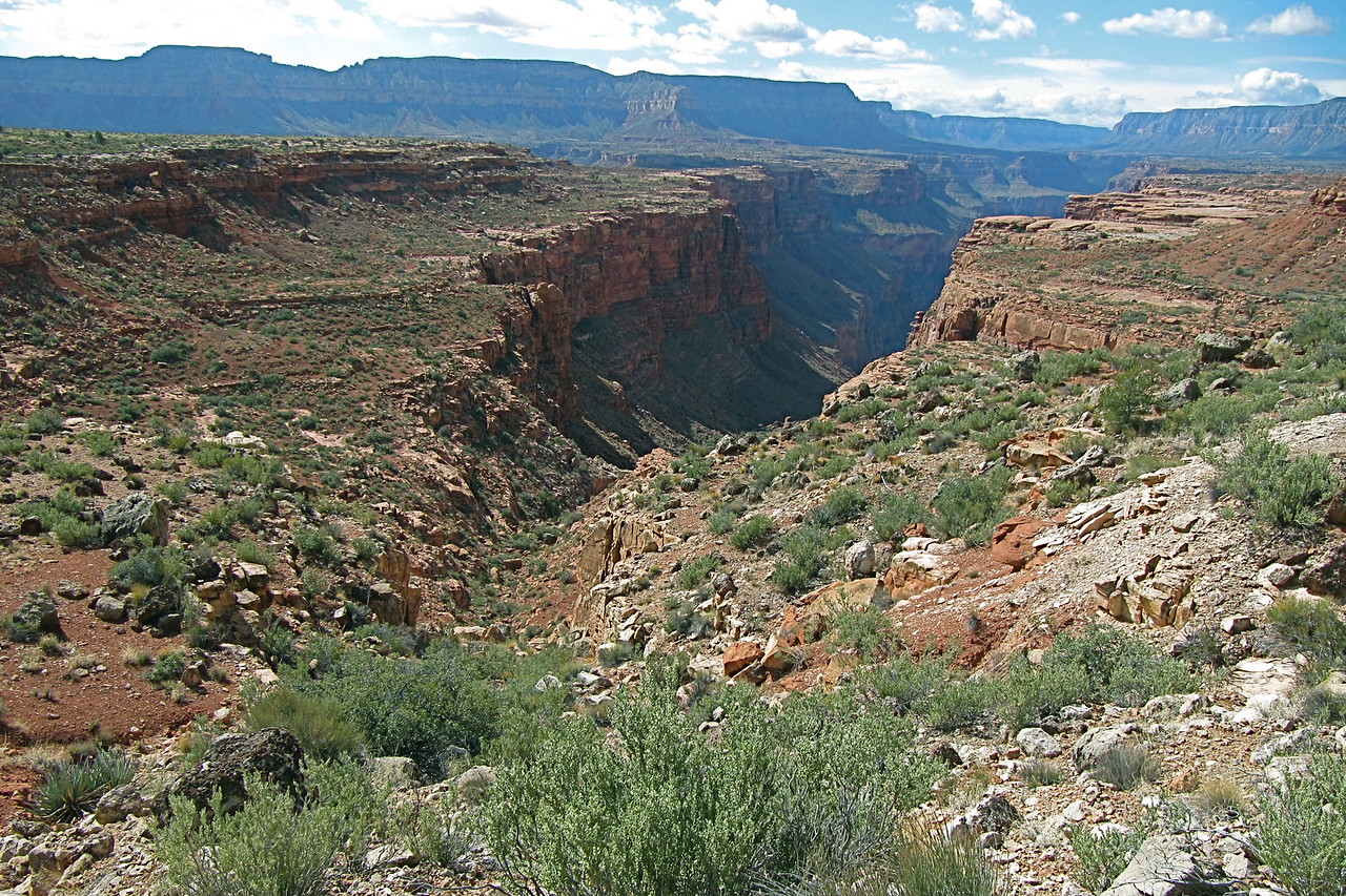 Looking South after we exited Stairway Canyon. Photo by John Otter