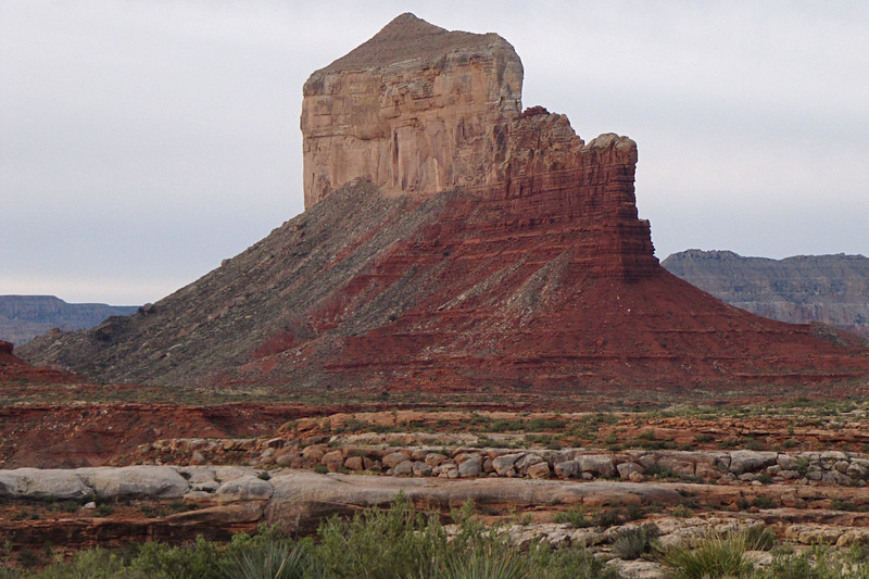 The Dome from near Camp 6<br /> Photo by John Otter