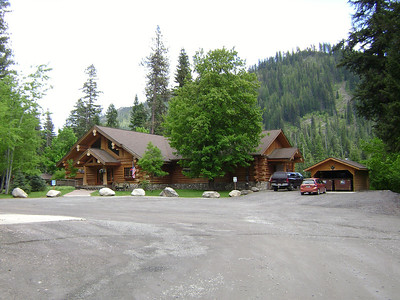 Lochsa Lodge, this is a great place and only an hour outside of Missoula.