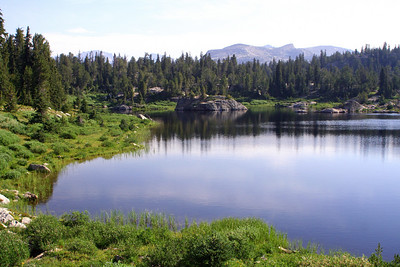 Ecklund Lake.