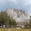Vogelsong High Sierra Camp below Fletcher Peak