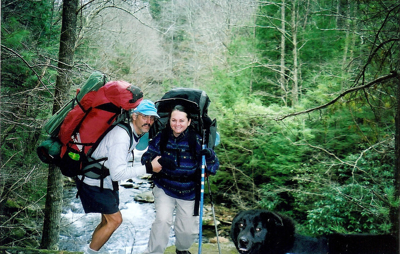 Backpacking Bald River With Little Mitten  Trip 53