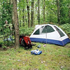 Crowder Camp is always a great place to stay and so on Day 8 I set up camp.