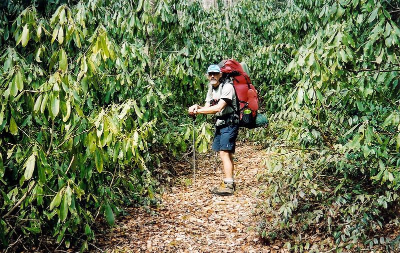 Rob Bush At Naked Ground Gap  Trip 56