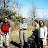 Just about the time I make it up to Cheoah Bald, Amy Willow (Amy Allen) shows up with her backpacking friends.