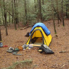 Big Pine Camp gets to see a brand new tent in action and it's the Integral Designs MK3, a single wall mountain tent developed for snow and mountaineering, NOT FOR Appalachian December rains.