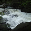 Once I'm inside the Bald River wilderness I take another break at the Cascades.