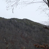 In the distance I can see some rocks on Haoe Lead trail.