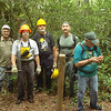 Rick Harris (right) and the Crosscut Mountain Boys show up to do some SF trailwork.