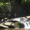 After leaving Hangover Mt I reach Wildcat Falls where I hang out and see some mere dayhikers.