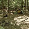 My camp of course is Wildcat Falls Camp located about a hundred yards upstream from the falls.