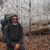 TRIP 89  January 2009<br /> **  Whiteblazers and Jeffrey Hunter Come To Visit Snow Camp<br /> **  21st Nutbuster<br /> **  Coldest Trip Yet at -10F<br /> **  Frozen Tundra and Icy Tent<br /> <br /> TRAILS<br /> Beech Gap<br /> Fodderstack<br /> Trail 149<br /> BMT Connector<br /> **Snow Camp**<br /> Fodderstack<br /> **Crowders**<br /> Big Stacki<br /> Slickrock Creek<br /> **Little West Camp**<br /> Nutbbuster 21st Time<br /> **Burnthouse Camp**<br /> Nutbuster<br /> **Naked Ground(2)**<br /> Four Mile Ridge<br /> **Bob Bald South Col(2)**<br /> 54A South<br /> Fodderstack<br /> Beech Gap and OUT<br /> <br /> Trip 89 begins a new year and kicks open my sac with cold temps.  Here I am at around 4,500 feet near Beech Gap on the Fodderstack trail.