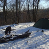 After the Nutbuster comes Naked Ground and as the sun sets camp gets frigid.