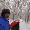 On Day 2 the storm begins and I spend the next 5 days(at different camps)in some dang cold temps hovering around 0F.  The Staika tent stayed wet and condensated for a week.
