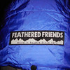 A wonderful addition to the winter kit is a Feathered Friends Icefall down parka and this is the hood.