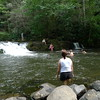 Tellico River has a lot of big swimholes.