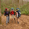 Trip leaders Tom, David and Lexi.