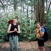 "Here's the old 2006 fotog from Trip 56 of Rob and Scott coming out of the ""jungle"" after a touch bushwack thru uncharted territory."